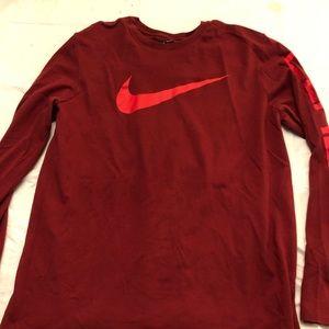 Nike long sleeve dri-fit tee
